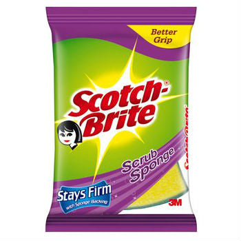 Scotch Brite 2 In 1 Scrub Sponge