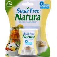 Sugar Free Natura Low Calorie Sweetner 100 Pellets