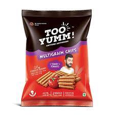 TOO YUM MULTIGRAIN CHIPS TANGY TOMATO - Anytimeneeds