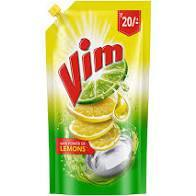 Vim Liquid Gel Yellow 155ml - Anytimeneeds