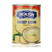 Morton Creamy Style Sweet Corn Tin 400 Gm