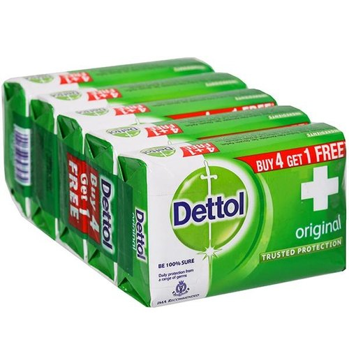 Dettol Soap Original 125 Gm Buy 4 Get 1 Free