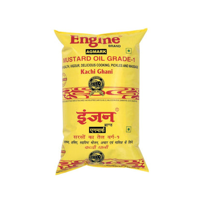 Engine Kachhi Ghani Mustard Oil 1 Ltr Pouch