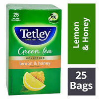 Tata Tetley Lemon & Honey Tea Bag 25 Tb - Anytimeneeds
