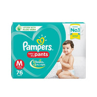 Pampers Diaper Medium 76 Pieces