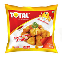 Total Cheese Corn Nuggets 400 Gm