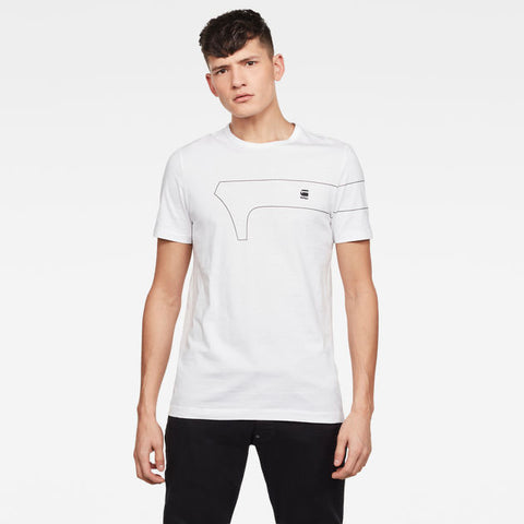 One GR Slim White T-Shirt