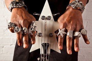 Bootsy Collins Spacebass Rings