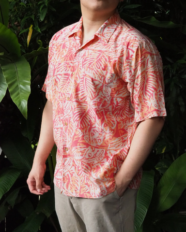 Pink Batik Short Sleeve SHIRT