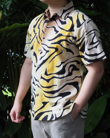 Zebra Batik Short Sleeve SHIRT