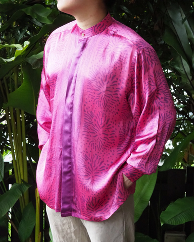 Batik Silk Long Sleeve SHIRT