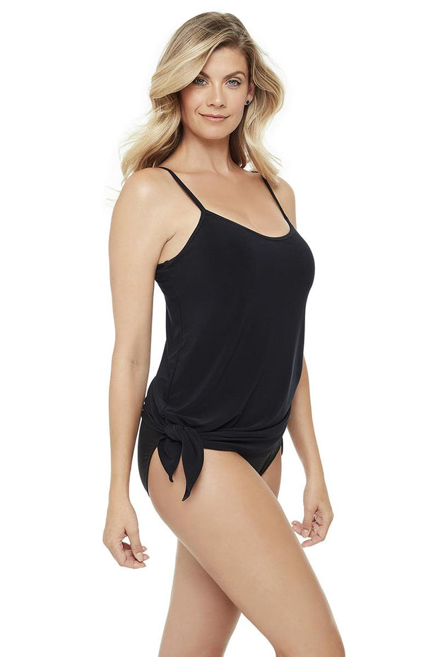 MAGICSUIT SOLIDS BRYNN ONE-PIECE SIDE