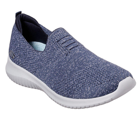 SKECHERS ULTRA FLEX HARMONIOUS NAVY SIDE