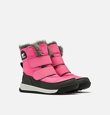 whitney ii strap boot pink pair