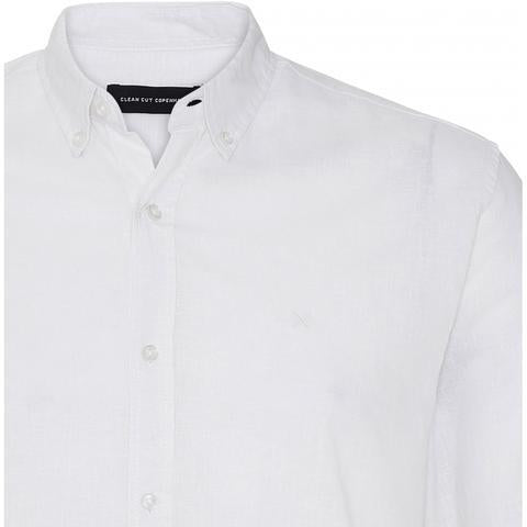CLEAN CUT - COTTON LINEN SHIRT