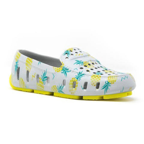 FLOAFERS- KIDS PRODIGY DRIVER pineapple