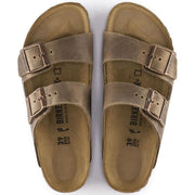 BIRKENSTOCK- ARIZONA OILED LEATHER TABACCO