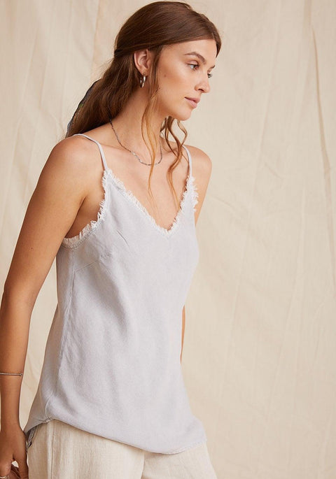 BELLA DAHL- FRAYED CAMI