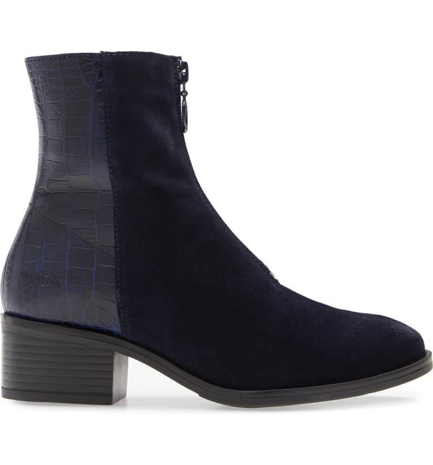 BOS. & CO. Jordon Bootie navy side