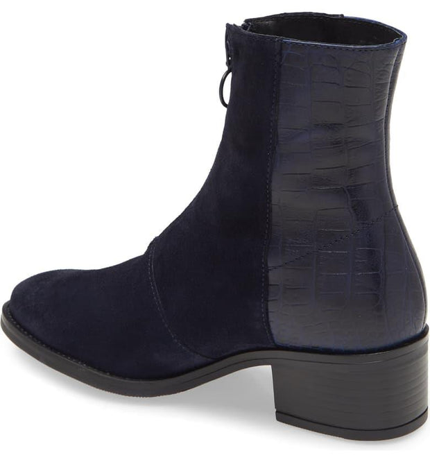 BOS. & CO. Jordon Bootie navy back