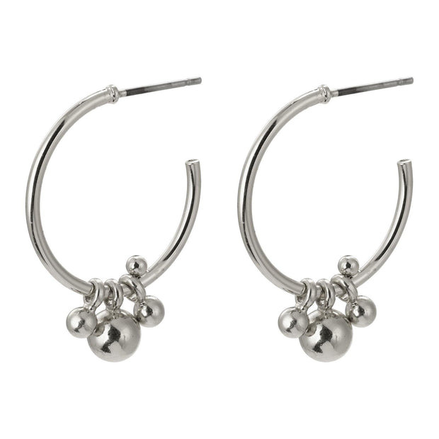 PILGRIM EARTH EARRING SILVER