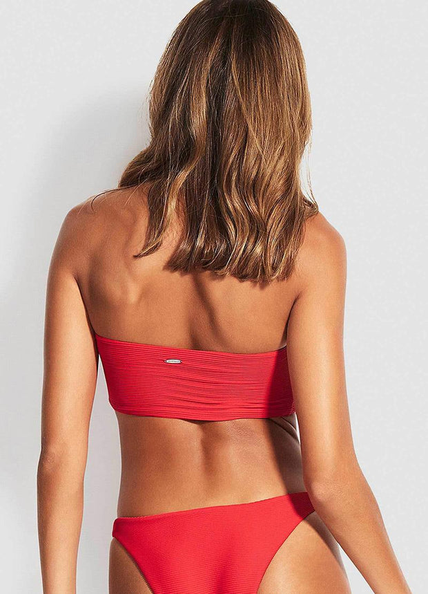 SEAFOLLY - ESSENTIALS TUBE BANDEAU TOP
