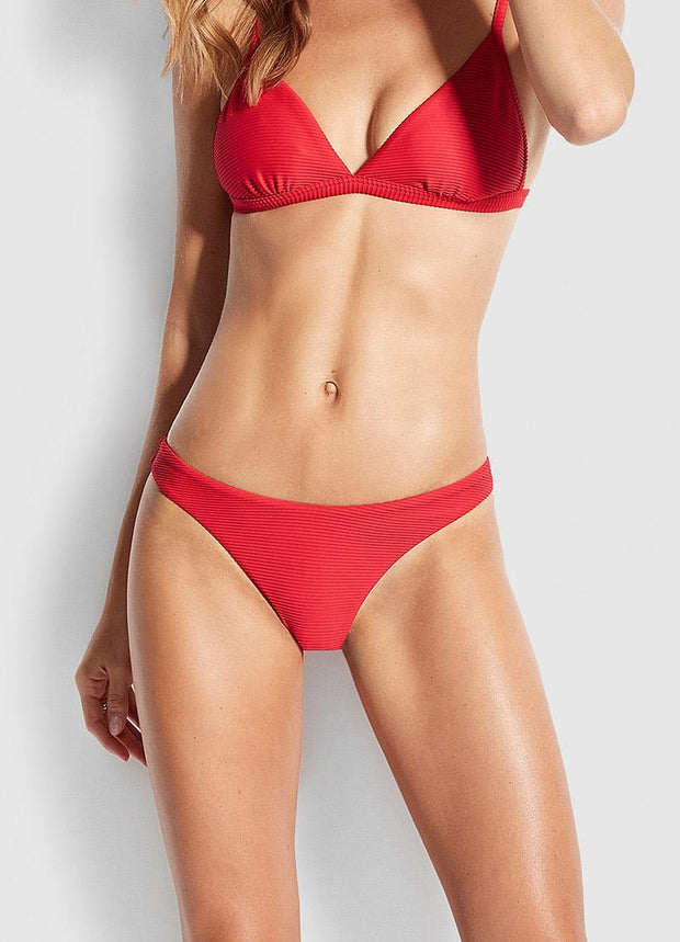 SEAFOLLY - ESSENTIALS HIGH CUT BOTTOM