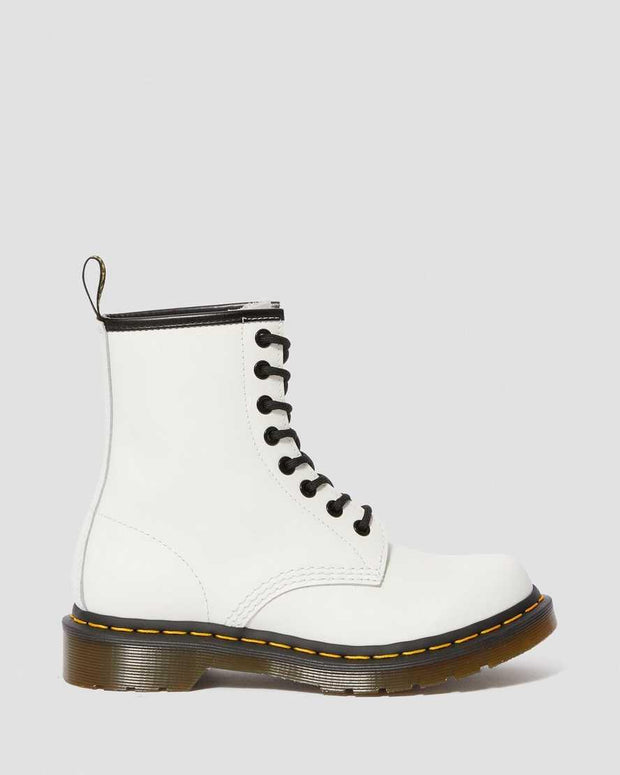 DR. MARTENS- 1460 WOMEN'S SMOOTH LEATHER LACE UP BOOTS