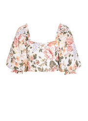 FAITHFUL THE BRAND- Pietra Top Teatro Floral Print
