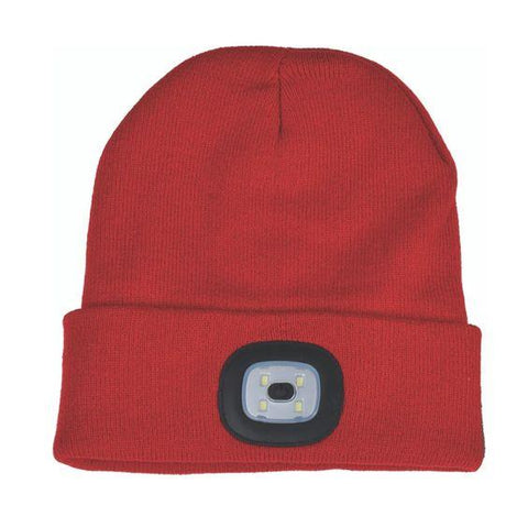 Night Scout- Rechargeable LED Beanie