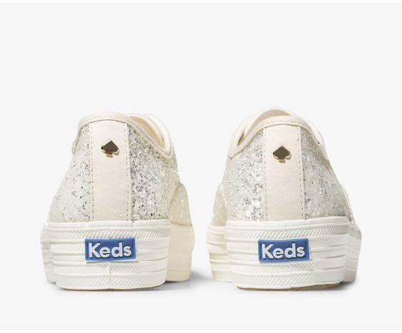 KEDS- WOMEN'S Keds x kate spade new york Triple Glitter