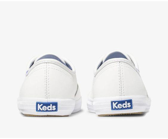 KEDS- WOMEN'S CHAMPION ORIGINALS LEATHER