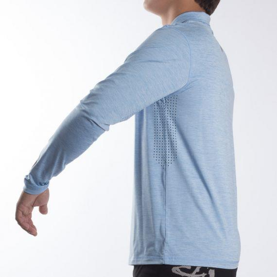 SALT LIFE Sleek Performance Long Sleeve Mock Neck Tee