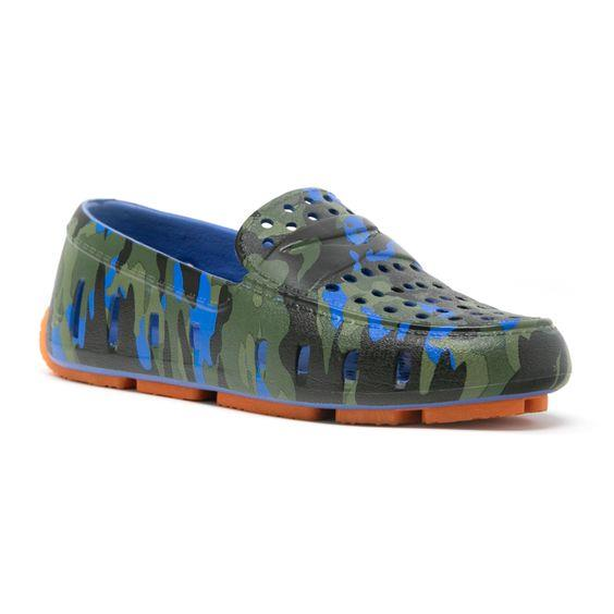 FLOAFERS- KIDS PRODIGY DRIVER camo