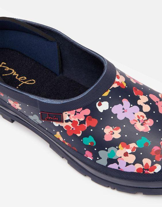 JOULES - POP ON PRINTED CLOGS