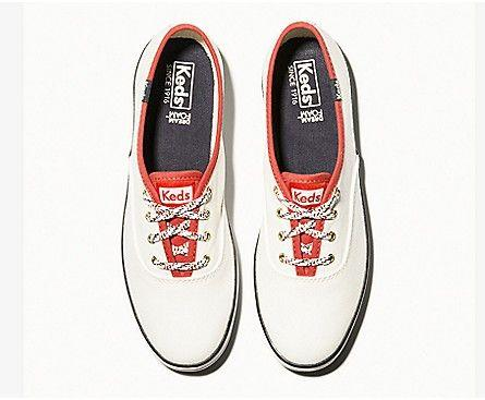 KEDS- WOMEN'S CHAMPION VARSITY SEASONAL SOLIDS TOP