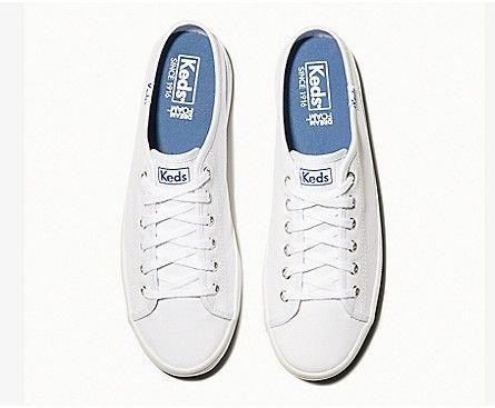 KEDS- WOMEN'S KICKSTART MULE CORE CANVAS TOP