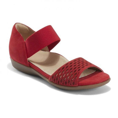 EARTH- ALDER AMORA SLIP-ON RED