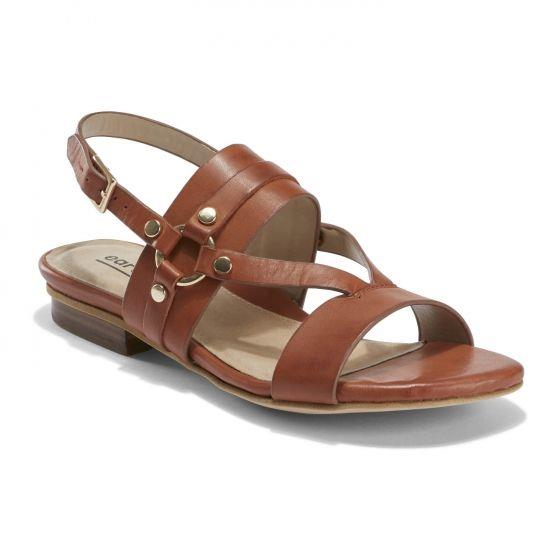 EARTH- MYKONOS DELOS SANDAL BROWN
