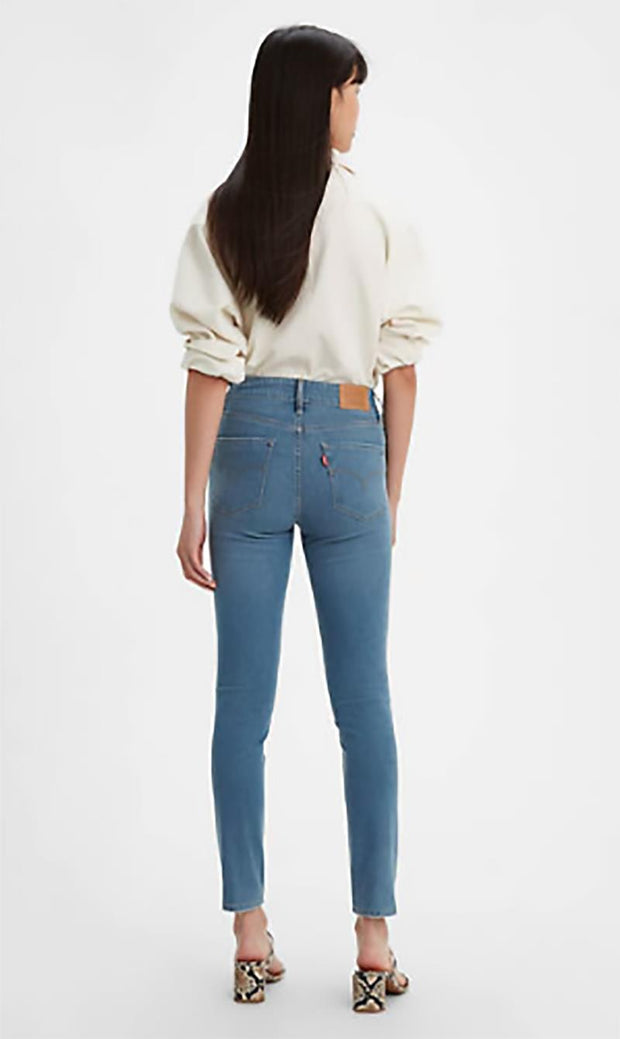 LEVIS 721 HIGH RISE SKINNY BACK