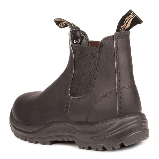 BLUNDSTONE- MEN'S 163- WORK & SAFETY BOOT BLACK BACK