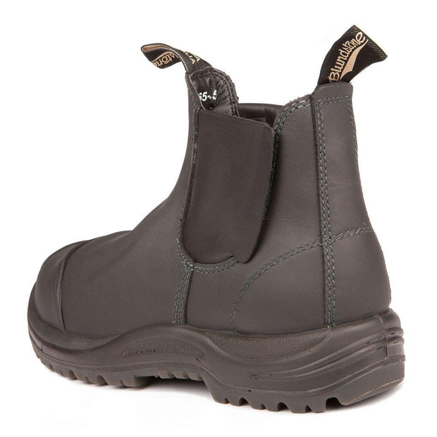 BLUNDSTONE- MEN'S 165- WORK & SAFETY BOOT MET GUARD BLACK BACK