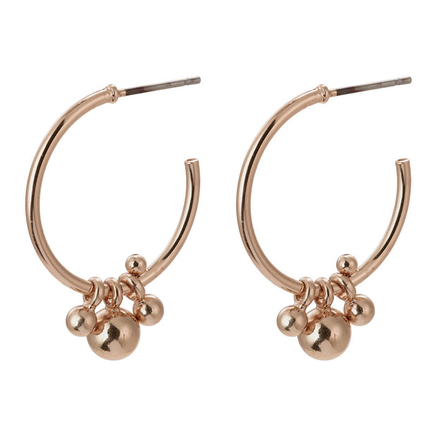 PILGRIM EARTH EARRING ROSE GOLD