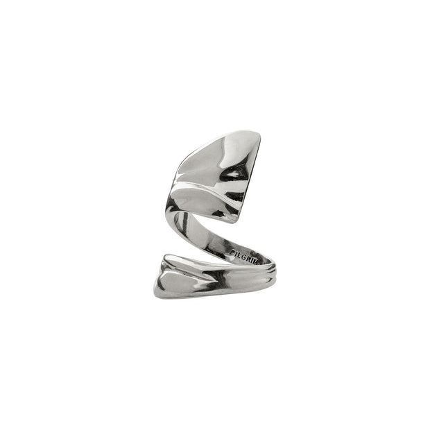 PILGRIM ADJUSTABLE WATER RING SILVER