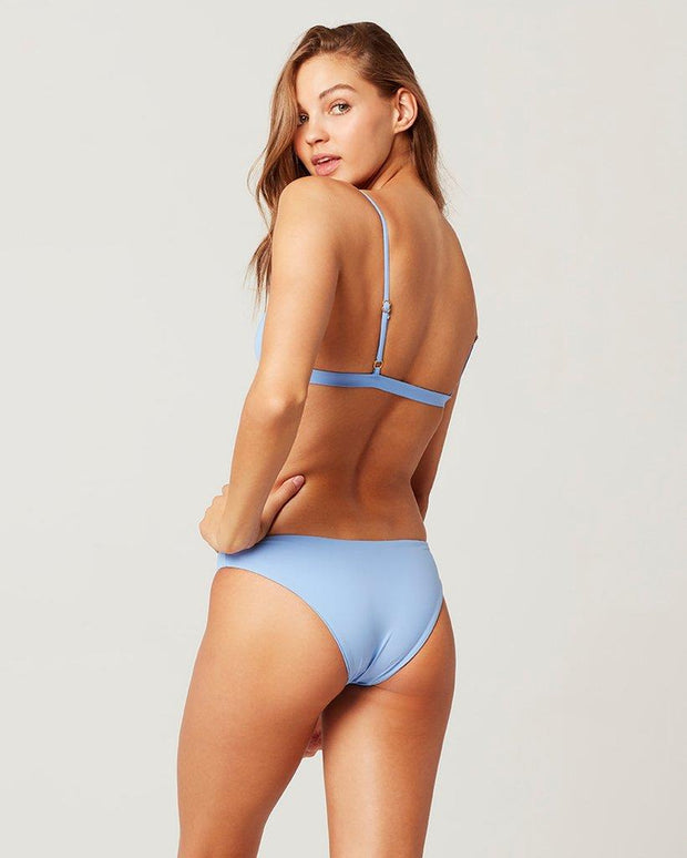 L*SPACE SANDY BIKINI BOTTOM BLUE BACK