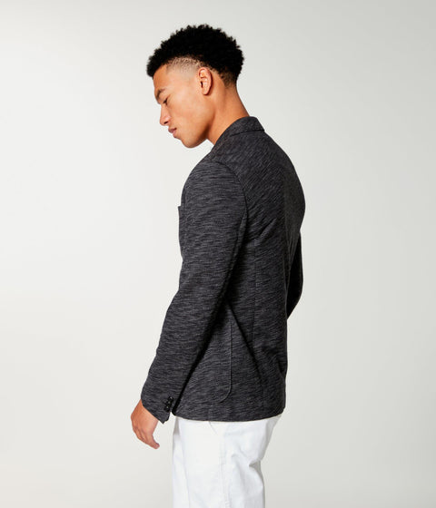 GOODMAN - TWILL SLUB FRENCH TERRY BLAZER