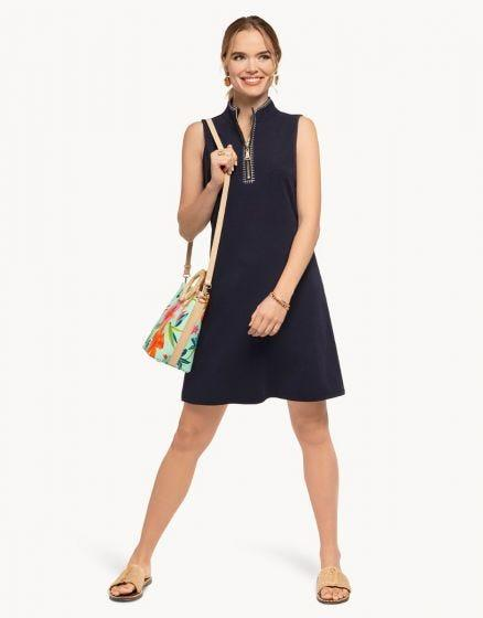 SPARTINA - HALF-ZIP DRESS