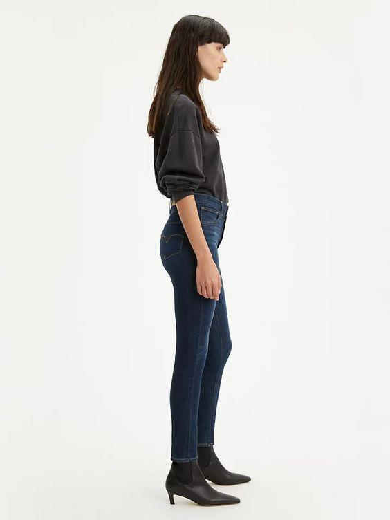 LEVI- 721 HIGH RISE SKINNY WOMEN'S JEANS