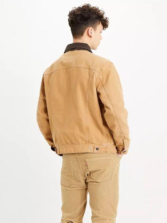 LEVI- LINED TRUCKER JACKET