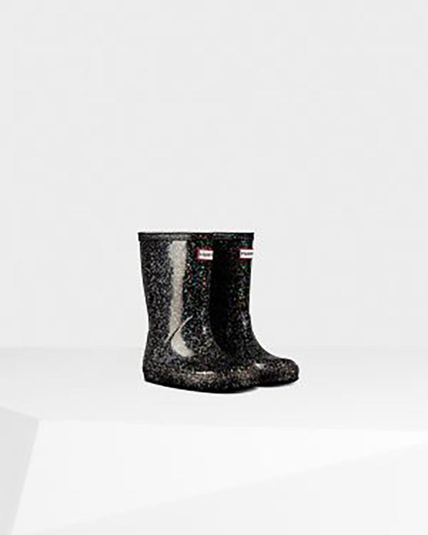 HUNTER- Original Kids First Giant Glitter Rain Boots